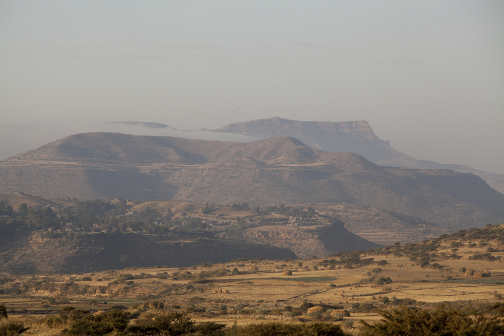 Tigray has some of the best looking mountain ranges in Ethiopia.