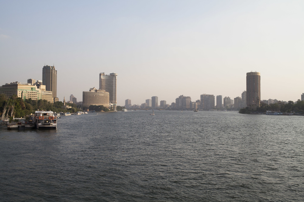 A view down the Nile.