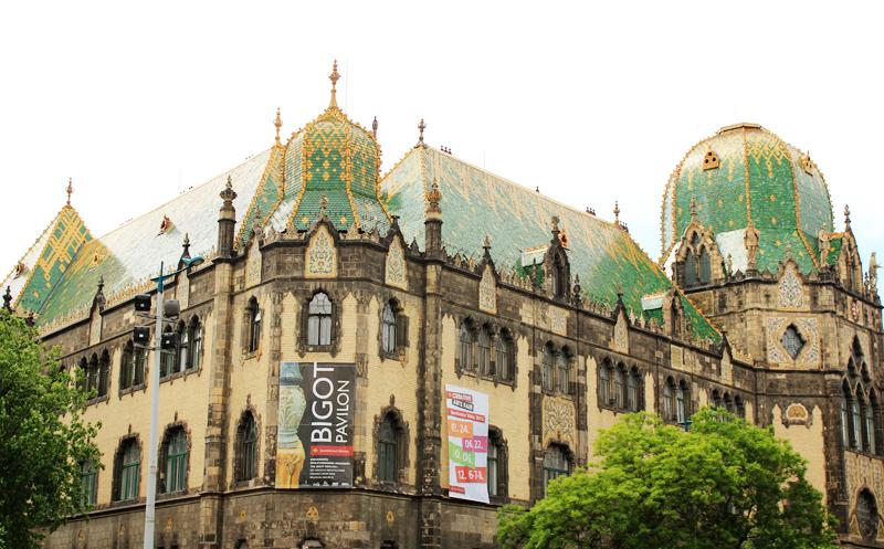 Μουσείο Εφαρμοσμένων Τεχνών - Museum of Applied Arts //Iparmuveszeti Muzeum