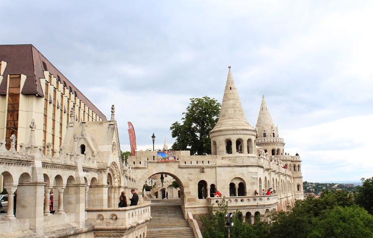 Τα κάστρα των Ψαράδων - Fisherman's Bastion // Halaszbastya (Buda Castles)