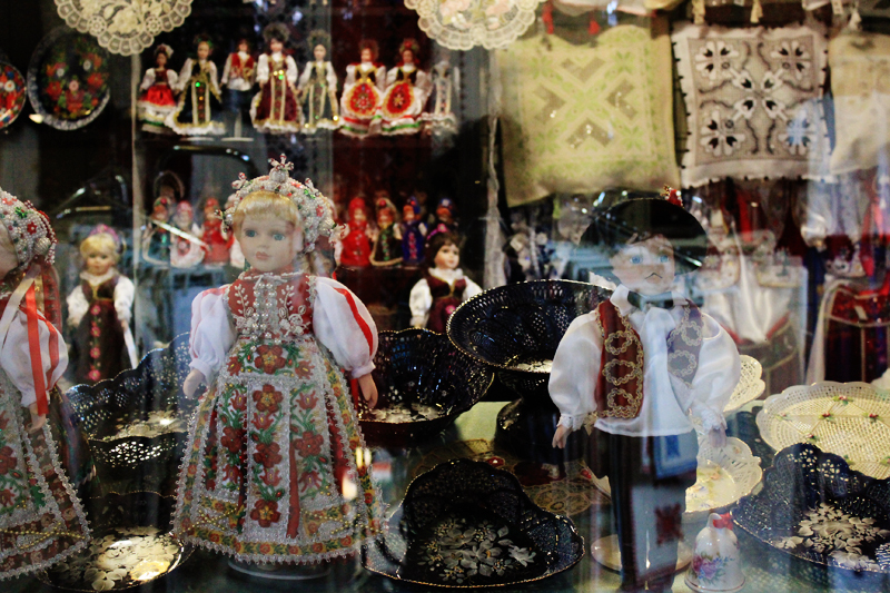 Nice kitchy tourist stuff at Great Market Hall // Nagycsarnok (Belvaros Region)
