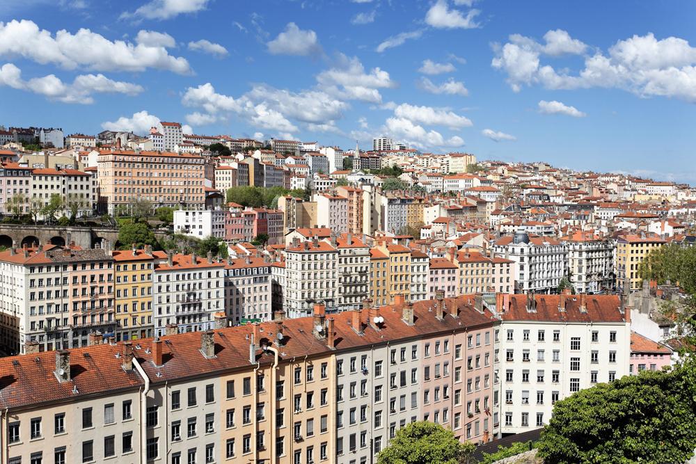 θέα της Lyon, France