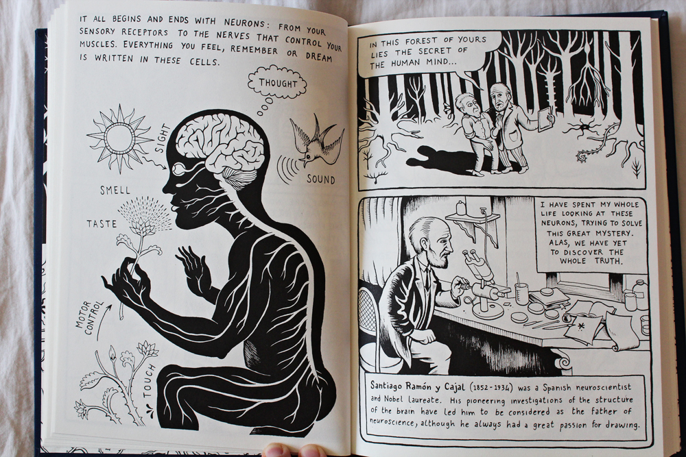 Bookreview of the Neurocomic Graphic Novel
