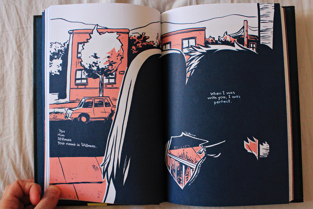 Graphic Novel Lost at sea by Bryan Lee O'Malley κριτική βιβλίου, απόσπασμα