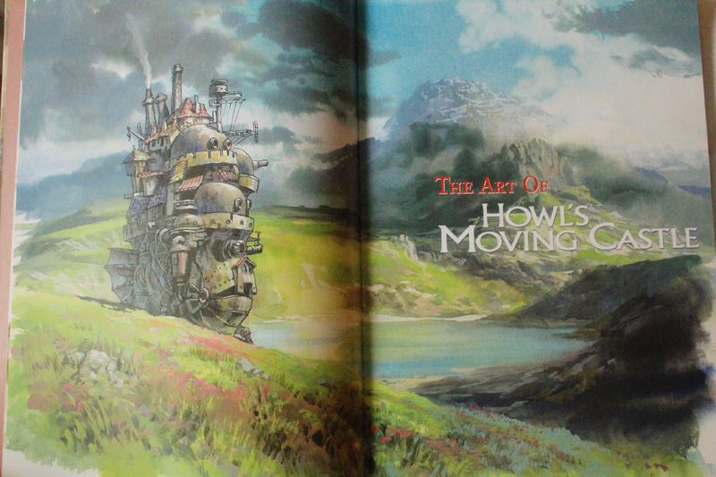 The Art of Howl's Moving Castle Κριτική Βιβλίου, Ξεφυλλισμα (1).JPG