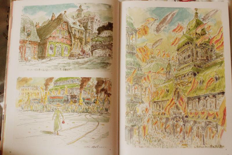 The Art of Howl's Moving Castle Κριτική Βιβλίου, Ξεφυλλισμα (2).JPG