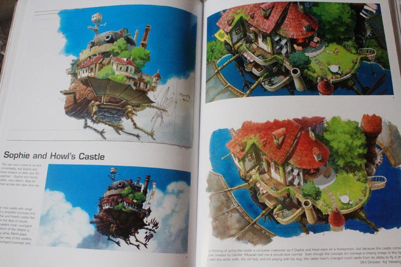 The Art of Howl's Moving Castle Κριτική Βιβλίου, Ξεφυλλισμα (11).JPG