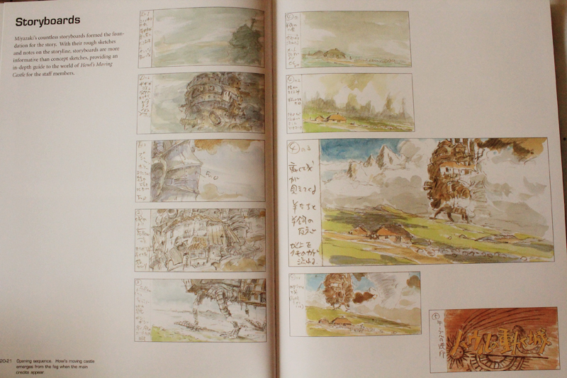 The Art of Howl's Moving Castle Κριτική Βιβλίου, Ξεφυλλισμα (8).JPG