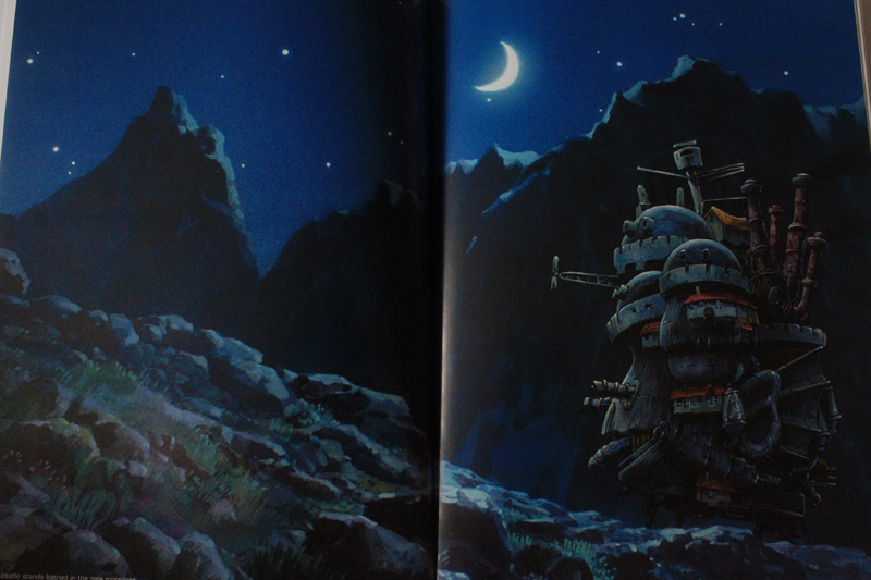 The Art of Howl's Moving Castle Κριτική Βιβλίου, Ξεφυλλισμα (7).JPG