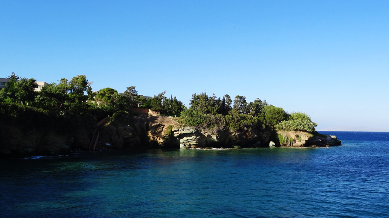 Agia Pelagia Beach Crete - Παραλία Αγίας Πελαγίας (1)