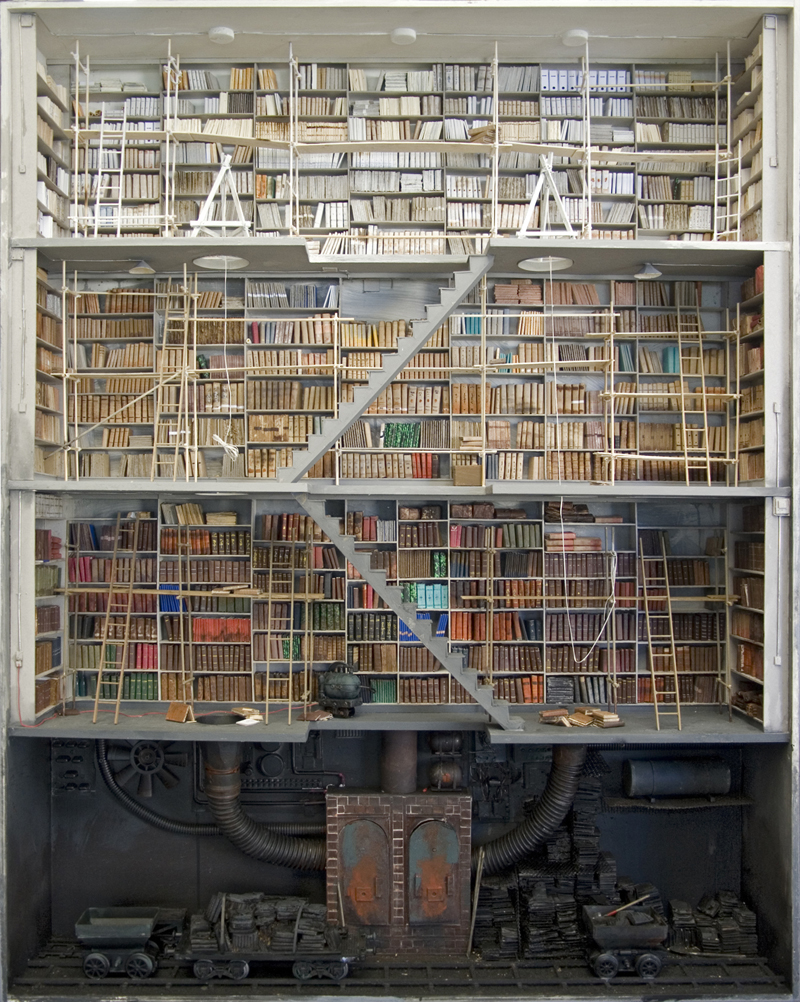 Library as a mine