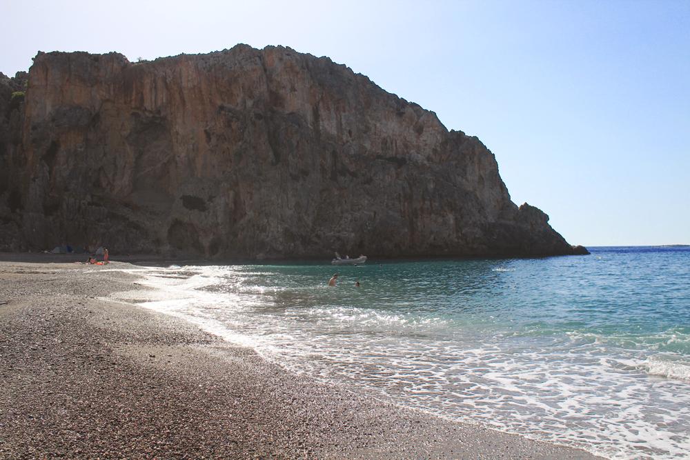 για κάμπινγκ στο Αγιοφάραγγο, Κρήτη