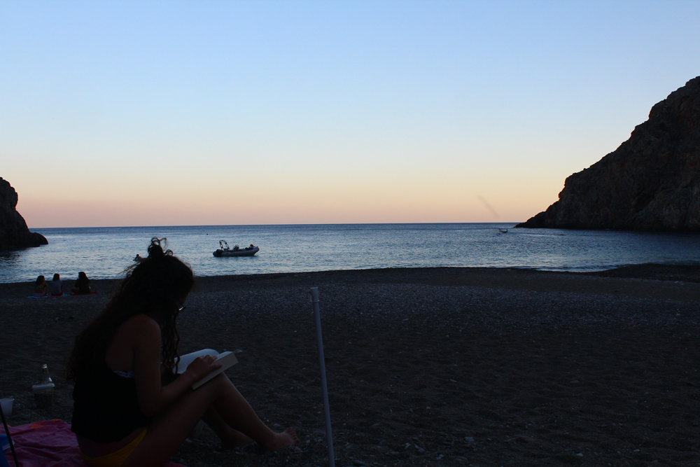 Camping at Agiofaraggo (South Crete, Greece) 14