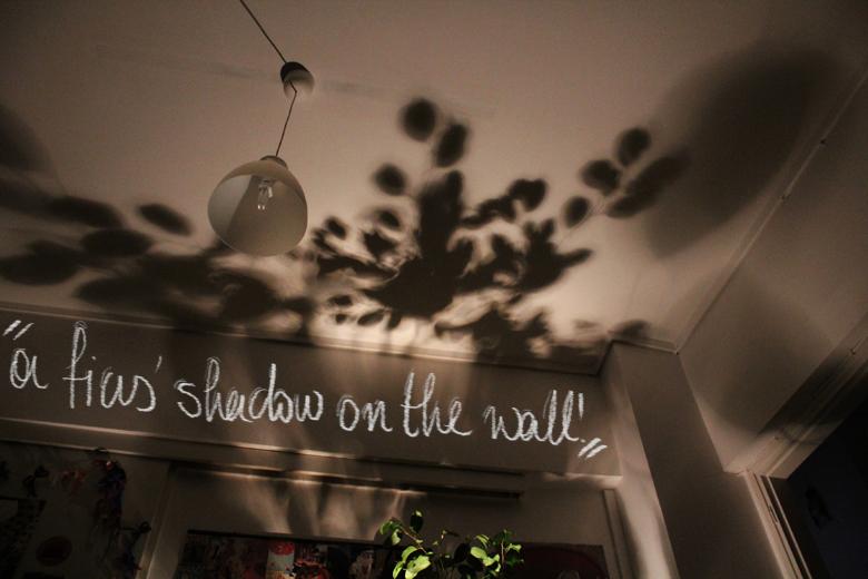 Δημιουργείστε το εφέ σκιών φυλλωμάτων στον τοίχο σας 1
