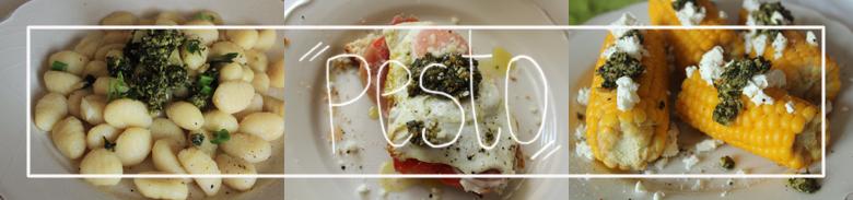 3 ways to eat pesto
