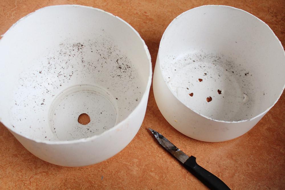Μετατρέψτε ένα πλαστικο μπιτόνι σε γκασπώ για παχύφυτα | από το IN WHIRL OF INSPIRATION