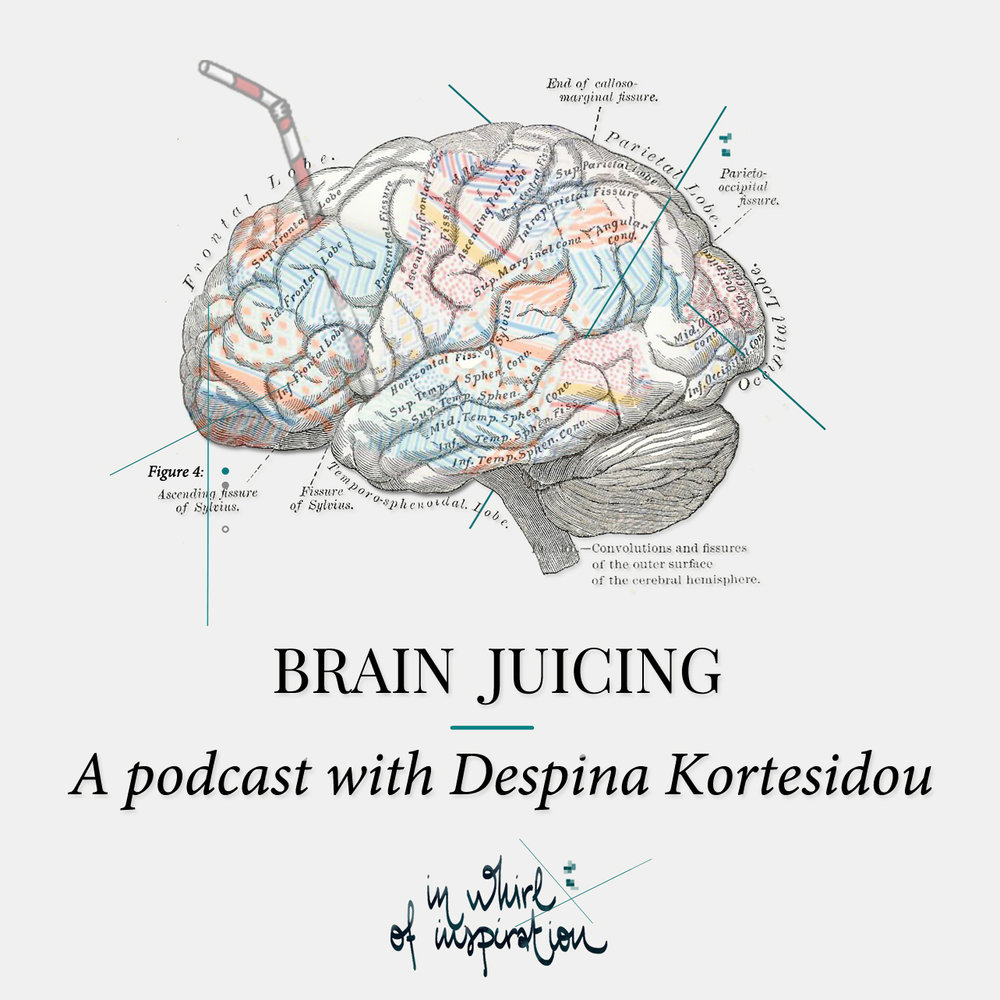 Brain Juicing το νέο podcast από το In Whirl of Inspiration