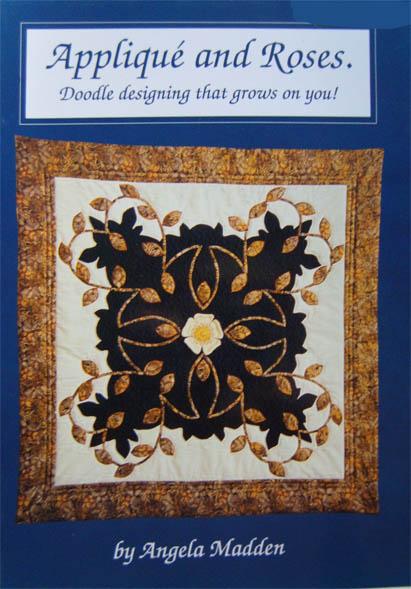 Floral appliqué, floral patchwork, Quilts