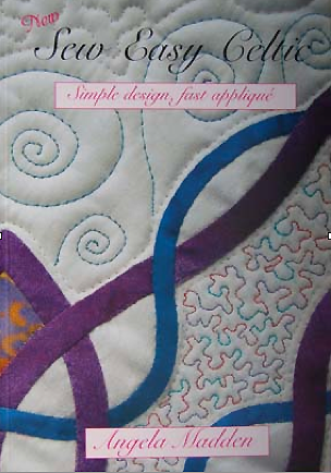 How to make  Celtic   Quilts.. simple design, fast applique