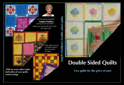 Double Sided Quilts DVD by Angela Madden