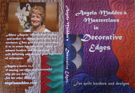 Decorative Edges Masterclass DVD by Angela Madden