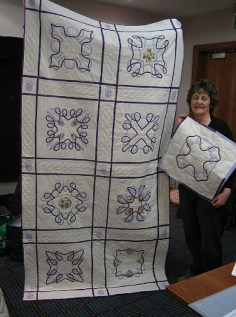 Quilt by Margaret from Norfolk