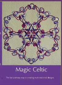 Celtic design quilts.  Magic Celtic DVD