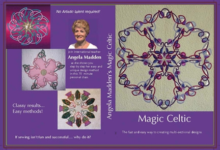 Magic Celtic DVD by Angela Madden