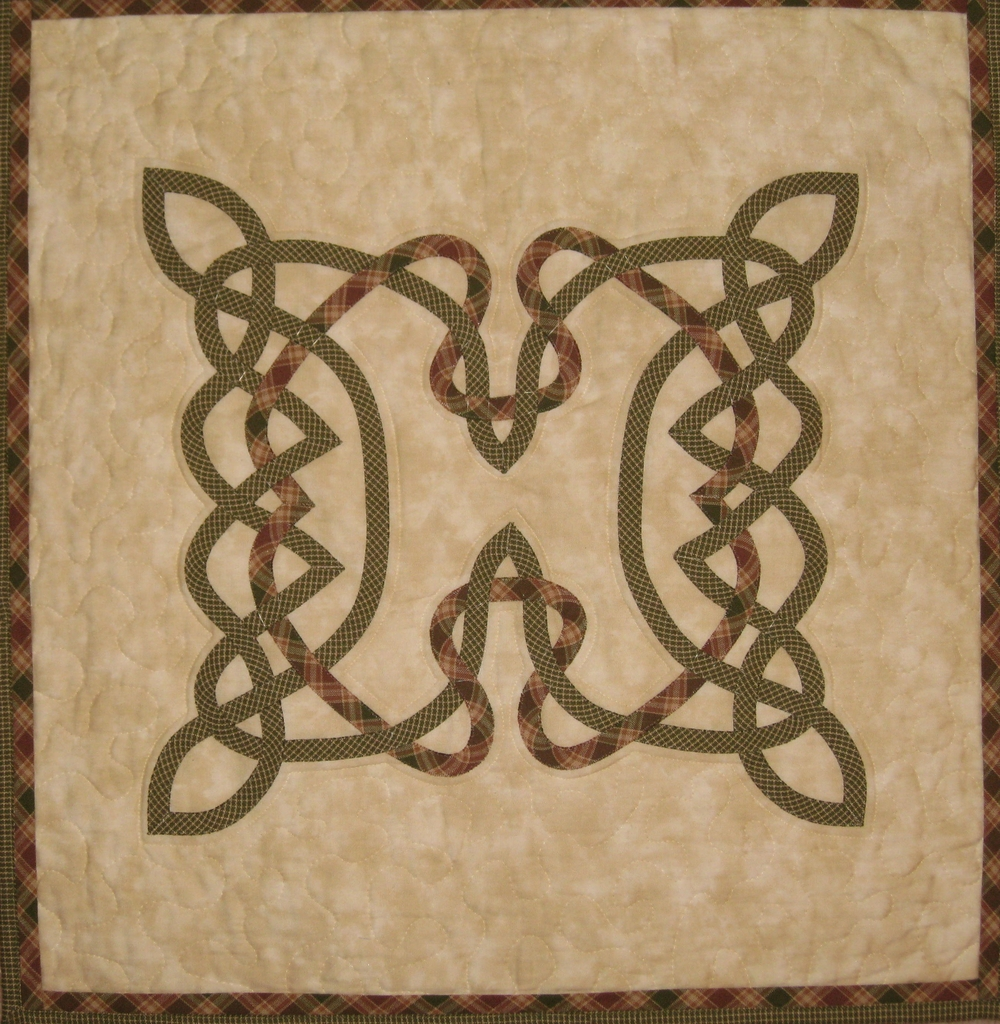 sew easy Celtic quilts design book