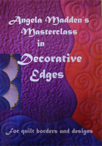 Decorative edges for quilt borders and designs- DVD
