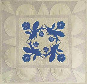 silhouette quilt design