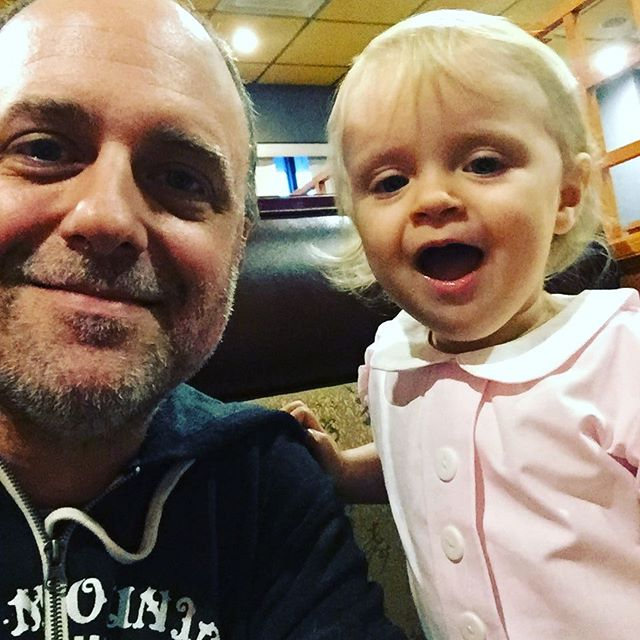 First Daddy/Daughter date. We ate Japanese food and drank Miso soup through a straw. #sorryaboutthemess #wehadfuntho