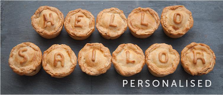 Personalised Pies
