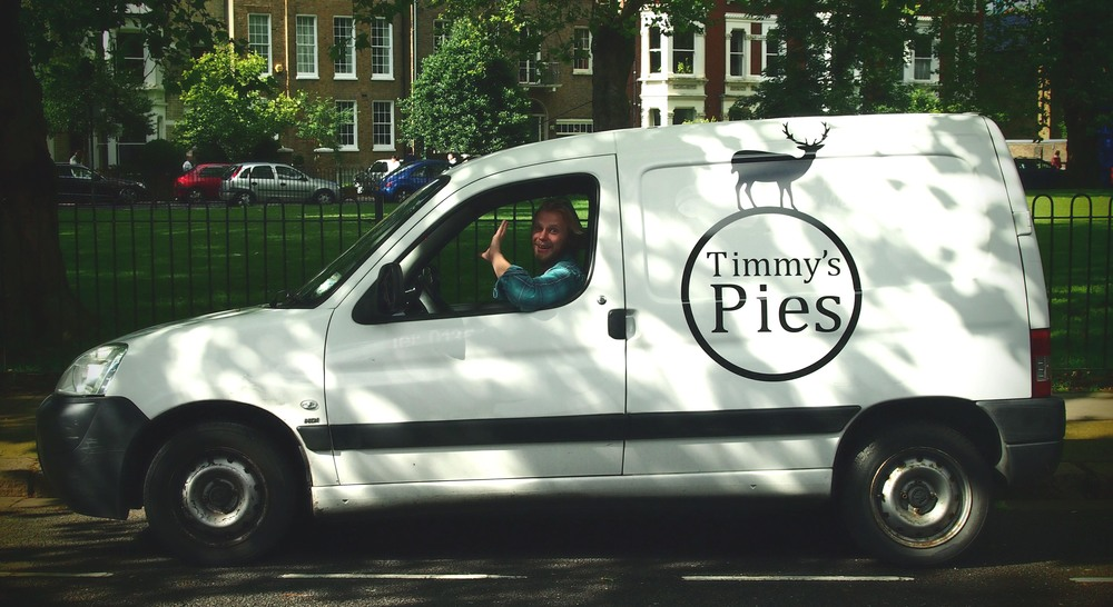 The Timmy's Pies van