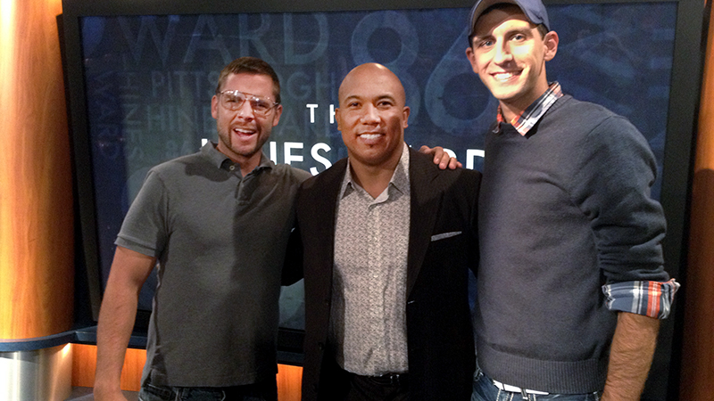 Curt & Chris on the Hines Ward Show.