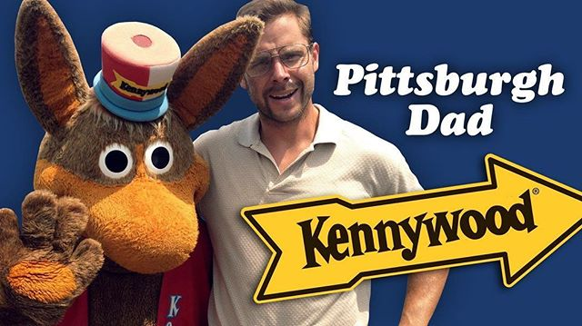 Pittsburgh Dad will be at Kennywood this Father's Day! Stop by to get a photo, autograph, or t-shirt for your own dad. We'll be by the lagoon Sunday 12:00 - 2:00 PM.