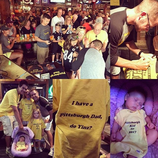 Thank you to everyone that came out to the Buxy's Salty Dog Meet & Greet last night! Three hours and hundreds of yinz, might have set a new record.