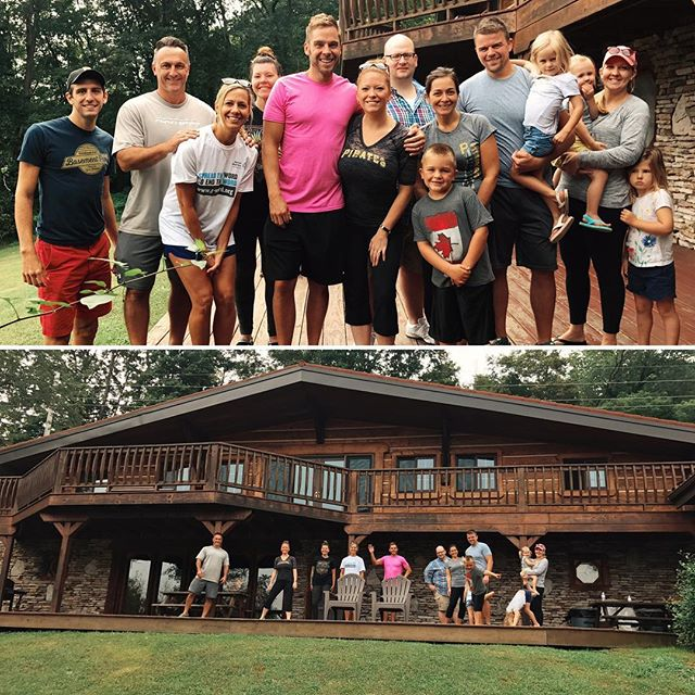 "Thank you @ohiopylevacationrentals for an incredible weekend with family and friends. Had a blast ""dahn Ohiapahl."""