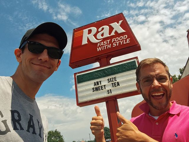 Yes, we really did drive 6 hours round trip for Rax. And it was totally worth it. Now how's about we get one back in Pittsburgh?
