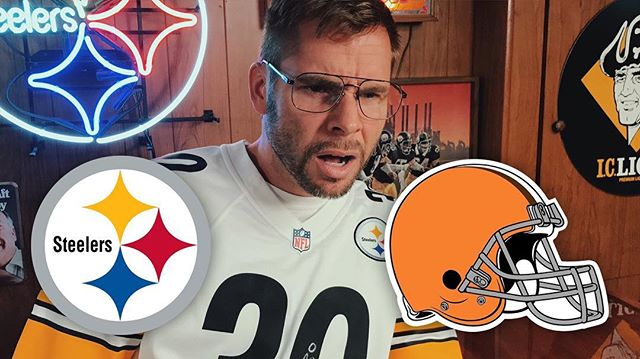 The 2017 Steelers season is underway and Dad is reacting! New video now up!  Link to our YouTube page in bio  #HereWeGo #Steelers