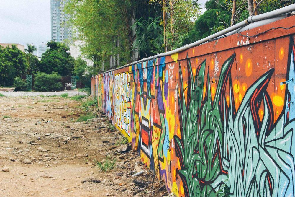 The Graffiti in Bangkok was actual art. Not just random tagging and gang symbols.