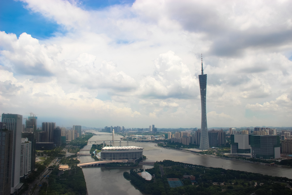 The Canton Tower.