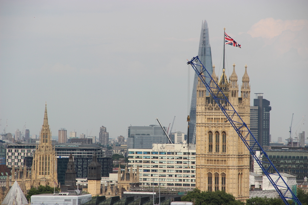 Westminster and The Shard