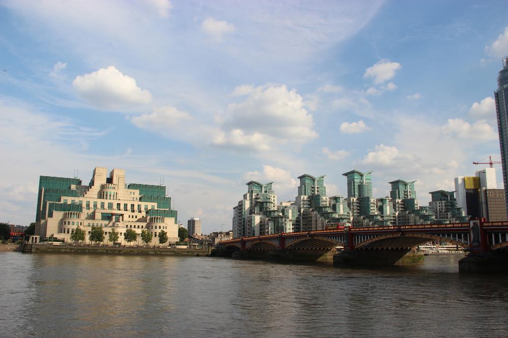 The MI5 (MI6?) building.