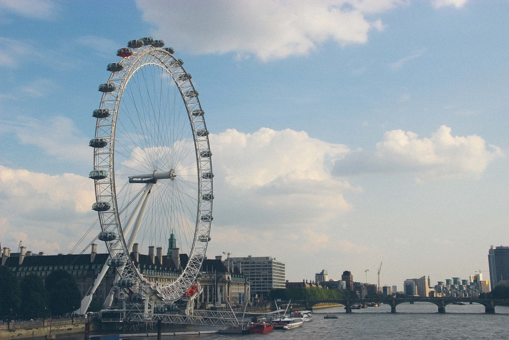 The Eye and the Thames.