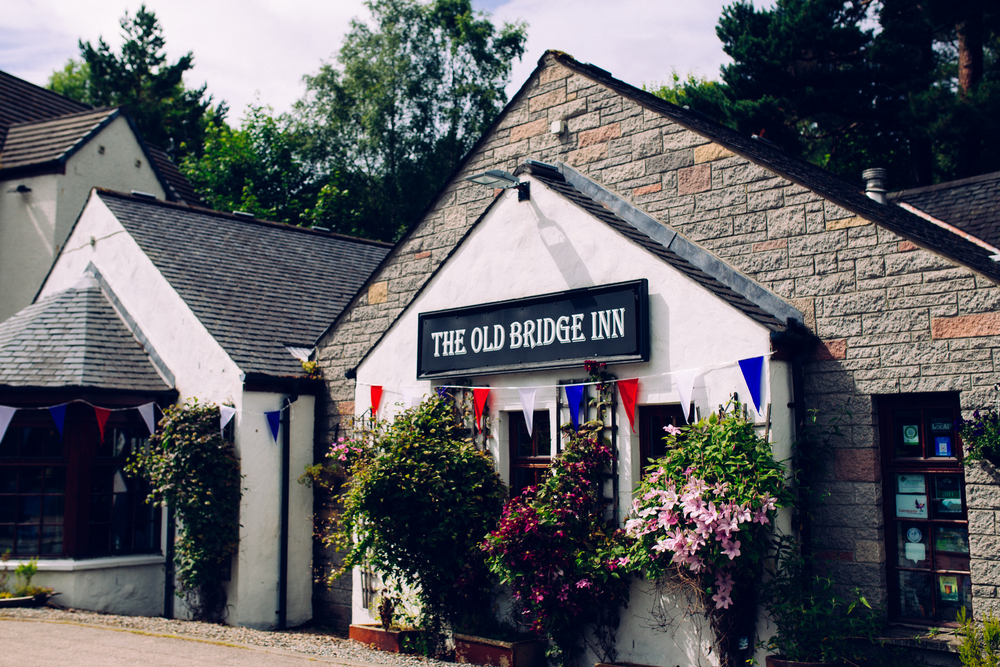 Mumford and Sons first played 'The Old Bridge Inn' six years ago on a tour of the Highlands.