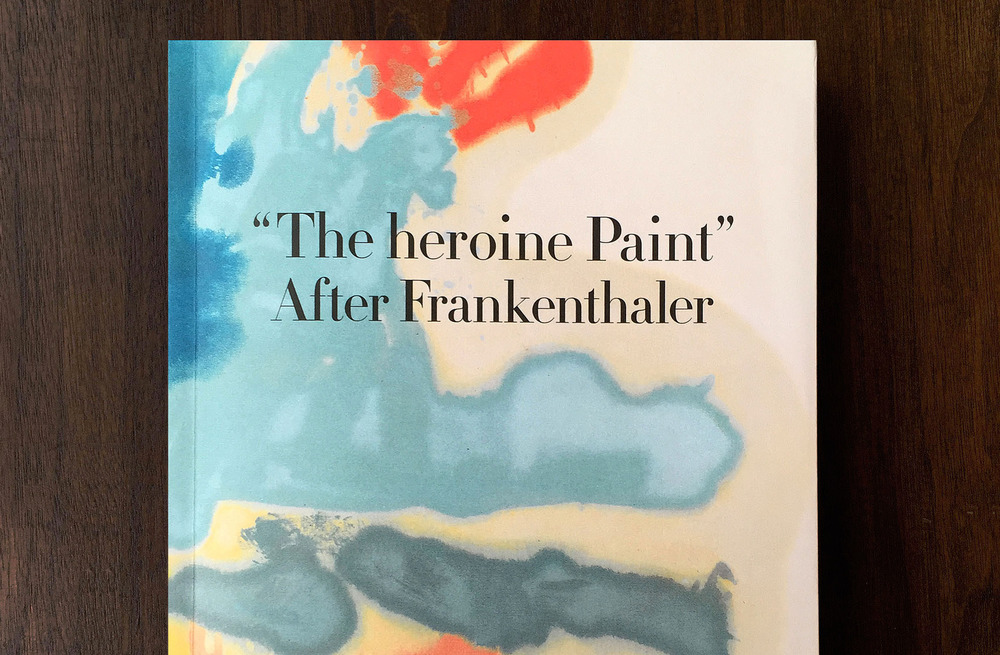 The heroine Paint After Frankenthaler