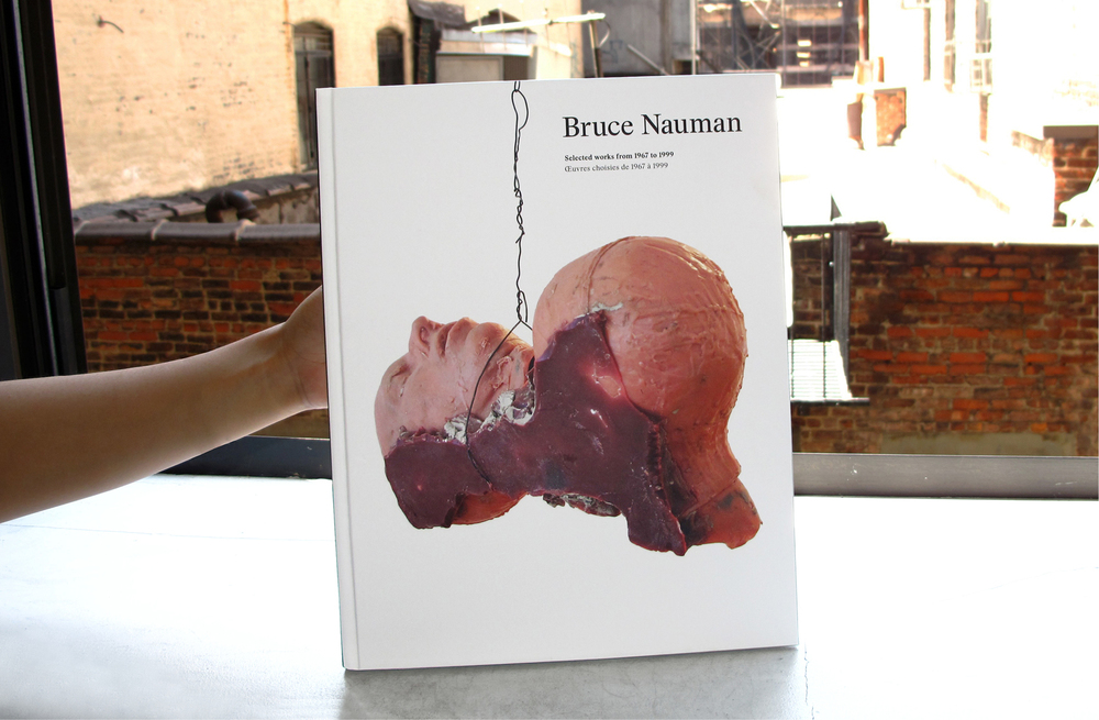 Bruce Nauman: Selected works from 1967 to 1999