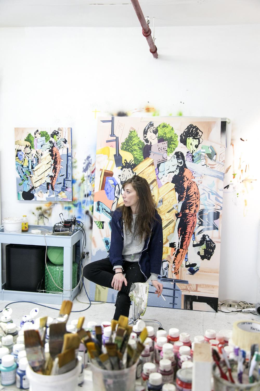 Jamian Juliano-Villani, Artist