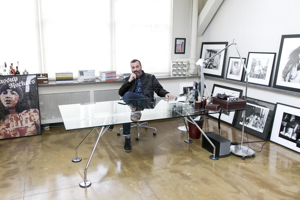 Mazdack Rassi, Milk Studios